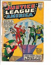 Justice League of America #4 1961 DC Comics Silver Age