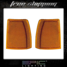 Fits 89-90 FORD BRONCO II SIGNAL LIGHT/LAMP  Pair (Left and Right Set)