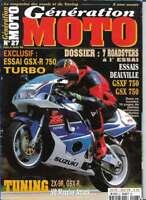 Génération Moto N° 27 juin à Aout 1998 (avec poster)