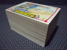 BASEBALLS GREATEST GROSSOUTS COMPLETE 124-CARD SET +3 WRAPPERS garbage pail kids