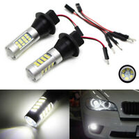 Super Bright 33-SMD Universal Fitting LED Replacement Bulbs For Car Fog Lights