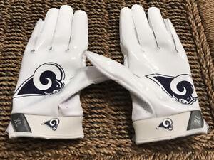 Nike Men's Los Angeles Rams Football Gloves Sz. XL NEW Matthew Stafford