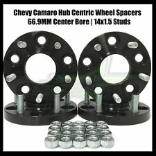2010-2018 Chevy Camaro Wheel Spacers Hub Centric 20mm 14x1.5 Fits SS LS LT Z28