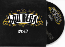 LOU BEGA - Bachata CD SINGLE 2TR Dutch Cardsleeve 2006 RARE!
