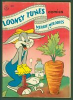 Looney Tunes #54 VG 1946 Golden Age Bugs Bunny  Gardening Cover