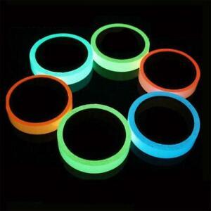 Magic Waterproof Luminous Tape Self-adhesive Glow in Dark Safety Stage Decor 3 M