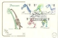 20 AUGUST 1991 DINOSAURS COTSWOLD FIRST DAY COVER NATURAL HISTORY MUSEUM SHS