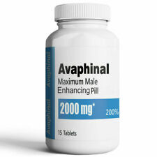 Avaphinal 2000mg Maximum Male Enhancement Pills - 15 Count
