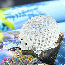 New Crystal Clear Hedgehog Paperweight Cut Glass Wedding Favor Ornament Gifts