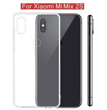 Xiaomi Mi Mix 2s Case Transparent Crystal Clear Gel Case TPU Soft Cover Skin UK