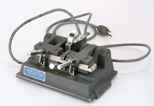 MAIER-HANCOCK PORTABLE HOT SPLICER, MODEL 816, 16MM AND 8MM, UNTESTED/216525