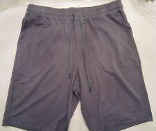 HANRO Mens Living Relax Lounge Shorts  Sz M Grey NWT