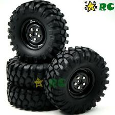 """4pcs RC 1/10 1.9"""" 108mm Crawler Tires Hex 12mm Wheels for tamiya rc4wd Upgrade"""