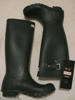 NEW HUNTER 'TALL' WELLINGTON BOOTS - BOXED - SIZE 3 - BARGAIN £37.50 & FREE POST