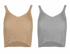 Unbranded Acrylic Casual Sleeveless Tops for Women
