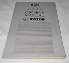 2002 MAZDA 626 OWNER'S MANUAL. / VERY NICE CONDITION   FREE S/H,,
