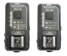 RoboSHOOT MX-15/RX-20 Wireless Flash Trigger Kit for Fuji-X