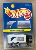 Hot Wheels 1995 Feed The Hungry Children Helpful Hauler #1 In Series, Ltd 10,000