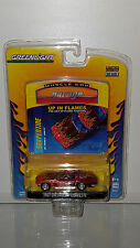 1/64 GREENLIGHT MUSCLE CAR GARAGE UP IN FLAMES 1967 CHEVROLET CORVETTE RED B22