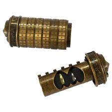 Da Vinci Code Cryptex Lock Box Creative Romantic Annversary Birthday Gift Bronze