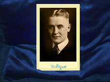 F. SCOTT FITZGERALD  Writer Gatsby Jazz Age Cabinet Card Photograph Vintage RP