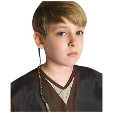 Star Wars Anakin Luke Skywalker Jedi Braid Hair Wig Halloween Costumes Accessory