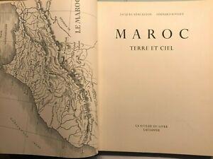 Maroc. Terre et ciel. - 1954 - Mercanton, Jacques u. Bernard Rouget