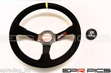 EPR 350mm Plato Ondo Volante Negro Ante - Momo Omp Sparco Nardi Boss