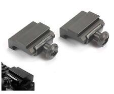 2 Stück Adaptern Picatinny - Weaver / Prismenschiene 21mm auf 11mm Zielfernrohr