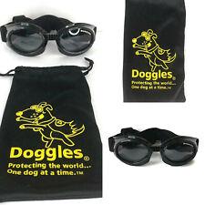 Doggles Dog Goggles Protective Eye Wear M/L Adjustable Wind Motorcycle Biker