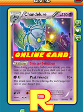 Chandelure Playset (Selection) for Pokemon TCG Online ( ptcgo in Game Card)