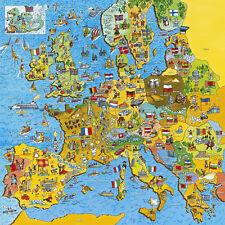 Gibsons - 200 Pieza Rompecabezas-jigmap Europa Childrens mapa & prueba Puzzle