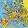 Gibsons - 200 PIECE JIGSAW PUZZLE - JigMap Europe Childrens Map & Quiz Puzzle