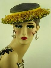 Felt Wedding Original Vintage Hats for Women