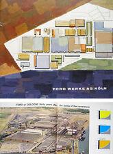 Ford Taunus & Transit 1960 original Corporate Publicity Brochure No. 0 PV 15/E