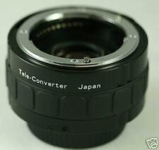 2X AF 7 Element Teleconverter Nikon 70-200mm 80-400mm 55-300mm 70-300mm D300S NU