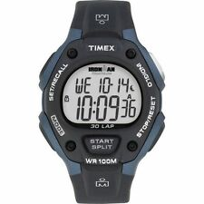 "Timex T5H591, Men's ""Ironman"" 30-Lap Resin Watch, Alarm, Indiglo, Chronograph"
