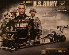 2013 Tony Schumacher Army Top Fuel NHRA postcard