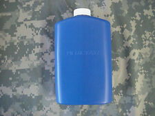 US MILITARY PLASTIC 1 PINT PILOT FLASK / CANTEEN, BLUE