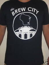 """Milwaukee Brewers """"Brew City"""" T-shirt Small"""
