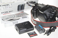 Canon EOS 30D Digital SLR Camera +1Gb CF +box *very good condition*