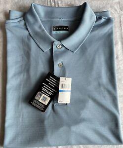 PGA Tour Polo Golf Shirt Moisture Wicking Allure Sz L $55. Licensed NWT