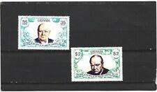 Grenada 1974 Churchill Birth Centenary Set MNH