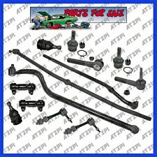 Front Steering Kit for 2000-2001 Dodge Ram 1500 4x4 Drag Link Track Bar Tie Rods