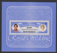 Montserrat - 1981, Royal Wedding sheet - MNH - SG MS516