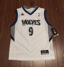 Ricky Rubio Minnesota Timberwolves Adidas Replica Jersey Youth Medium New w/ Tag