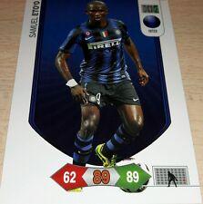 CARD ADRENALYN 2010/11 PANINI INTER ETO'O CALCIO FOOTBALL SOCCER 2011