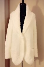 "NWT Gelato Pique Super Soft Fluffy Cardigan One Size Feels like ""BAREFOOT DREAMS"