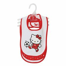 Liverpool FC Baby Hello Kitty Bibset LFC Official
