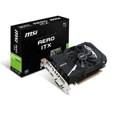 SCHEDA VIDEO VGA MSI GeForce GTX 1050 Ti 4GB Aero ITX OCV1 V809-2606R